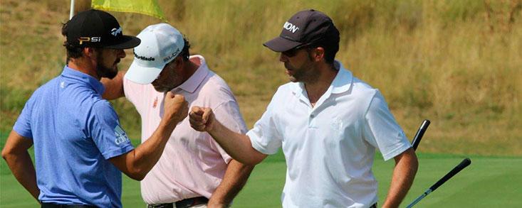 Javier Colomo e Ismael del Catillo, líderes en el Campeonato de Madrid Dobles