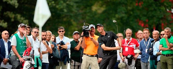 Nicolas Colsaerts despierta en Golf Club Milano