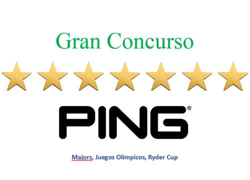Elija su favorito para el US PGA Championship hasta el 27 de julio y consiga unos fabulosos palos PING G