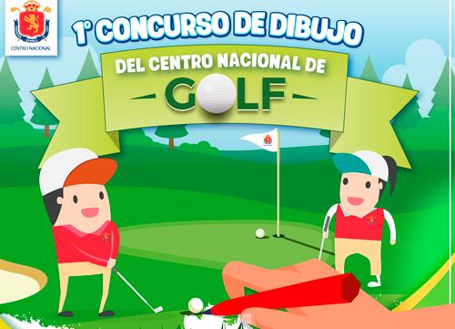 "I Concurso de Dibujo ""Los valores del golf"""