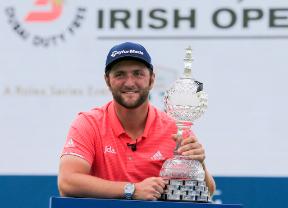 Jon Rahm confirma su participación en el Dubai Duty Free Irish Open