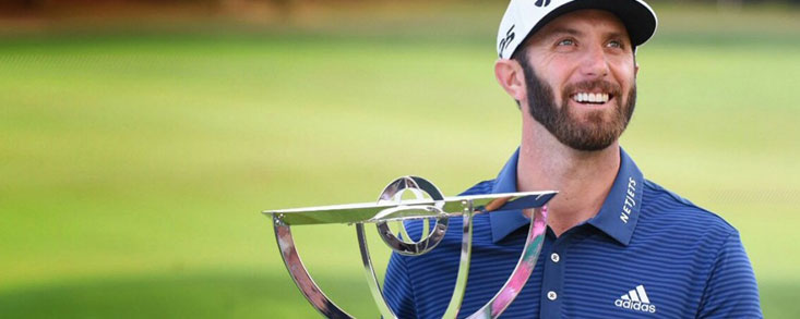 Dustin Johnson gana en el Play-Off a Jordan Spieth y se coloca primero en la FedEx Cup