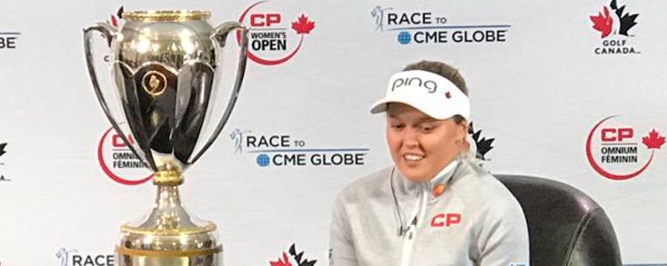 Henderson, primera canadiense en ganar en su país desde 1973