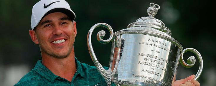 Brooks Koepka se consagra ganando el PGA Championship dos meses después de conseguir revalidar el Us Open