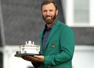 Johnson: 'Cuando era un niño siempre soñé con ganar el Masters de Augusta'