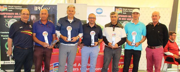 Diez Ganadores en Cabanillas Golf y Ganguren
