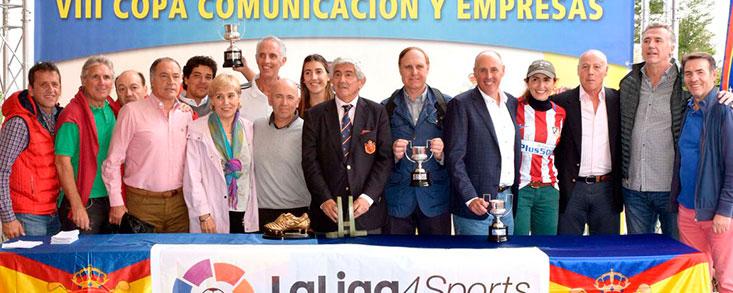 Espíritu atlético y olímpico, de la mano en la Copa Comunicación