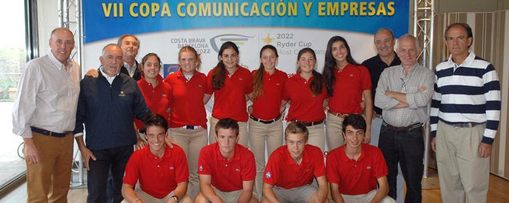 La Escuela Nacional Blume, protagonista en el Centro Nacional de Golf