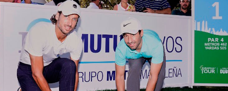 El Mutuactivos Open de España se suma a los Cordones Dorados