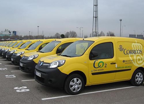 El Renault Kangoo Z.E eléctrico, a la flota de Correos