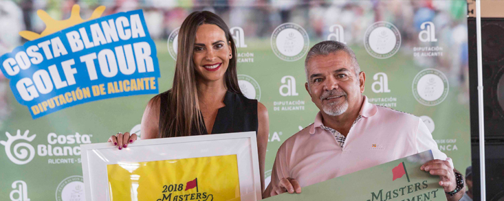 Los primeros ganadores del Costa Blanca Golf Tour sueñan ya con el Masters