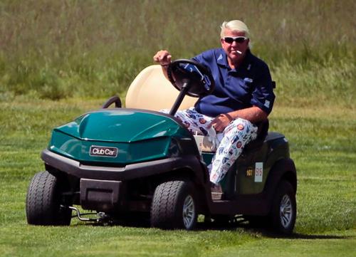 John Daly no jugará en Royal Portrush