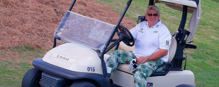 John Daly podrá volver a jugar al golf andando