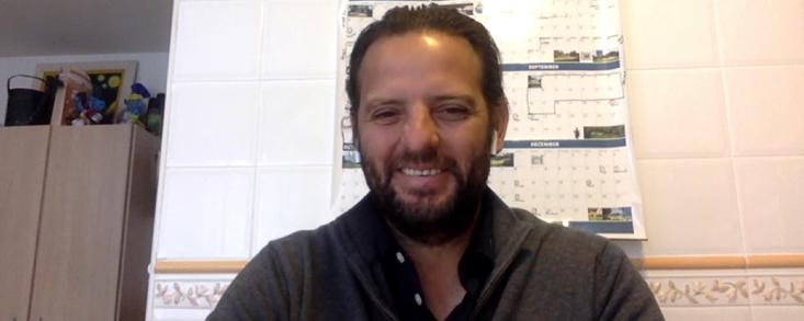 David Gómez: 'Es la situación más complicada que me ha tocado vivir como greenkeeper'