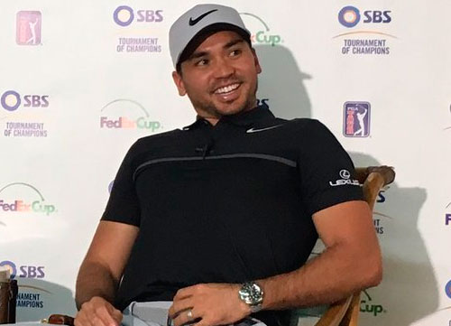 Jason Day, optimista para este 2017