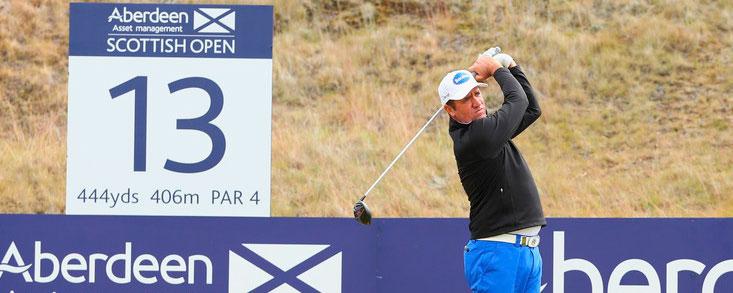 Scott Hend y Felipe Aguilar golpean primero en Escocia