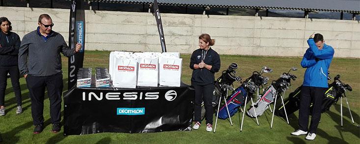 La gira de Decathlon paró en Nestares Golf