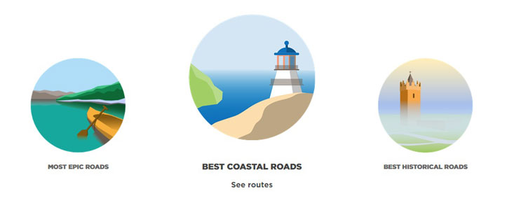 Descubre las mejores rutas del mundo con TomTom Road Trips