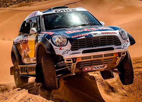 El coche a batir en el Rally Dakar, Mini All4