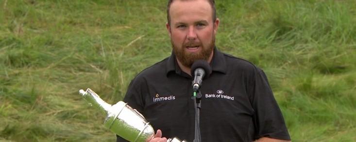 Lowry: 'Quiero dar las gracias al R&A por traer de nuevo The Open a Irlanda'