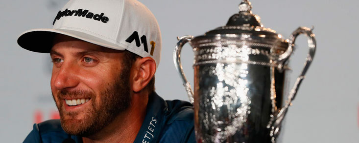 Dustin Johnson consigue el Us Open, su primer Major