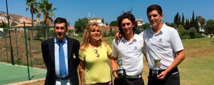 Jiménez y Alonso, campeones de Andalucía