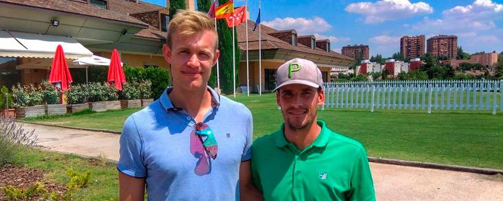 Muñoz y Stjarnesund, líderes del Campeonato Dobles de Madrid