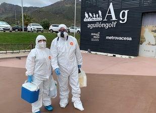 Domingo de 'desinfección' en muchos campos de golf de España