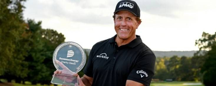 Phil Mickelson consigue otro triunfo en el Champions Tour