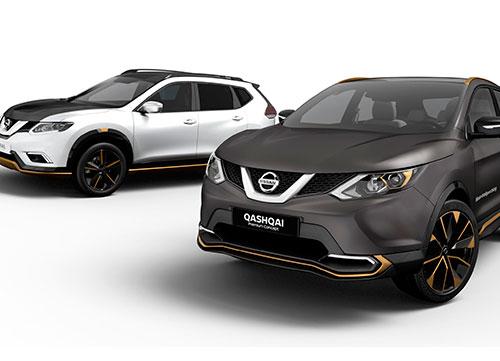 Los crossovers premium de Nissan