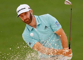 Dustin Johnson sigue liderando con García, 7º, y Rahm, 13º