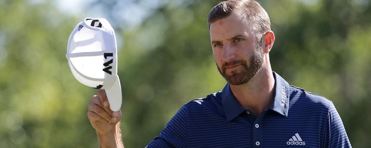 Dustin Johnson nombrado jugador del año en el PGA Tour
