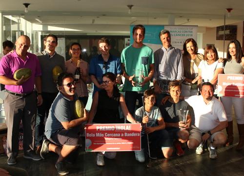 Un sábado mágico y solidario en el Club de Golf de El Bosque