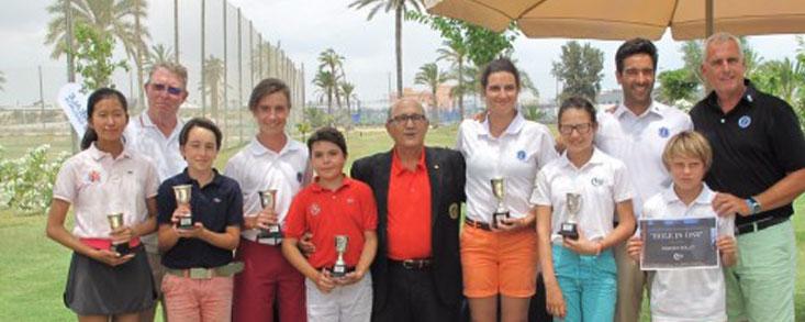 Tommy Artigas y a Aitana Hernández ganadores en la Escuela de Elche