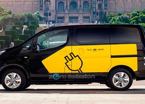 100% cero emisiones con los Taxis Nissan