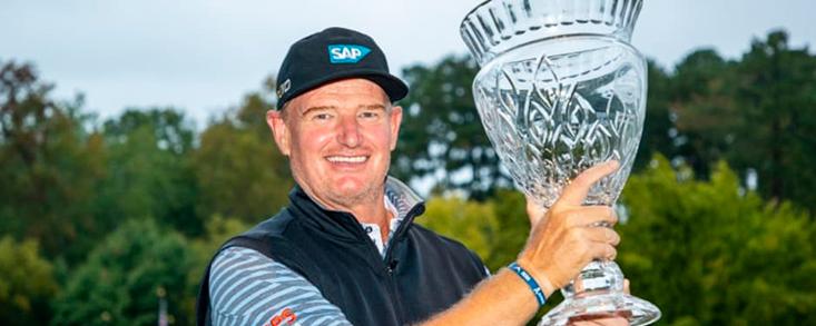 Segundo título para Ernie Els en el PGA Tour Champions