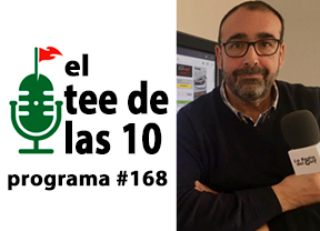 Sebastián García pasó por El Tee de las 10