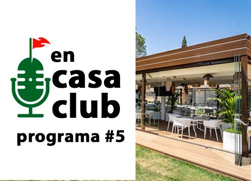 Charlamos con Manuel Galán sobre la sede del Open de España