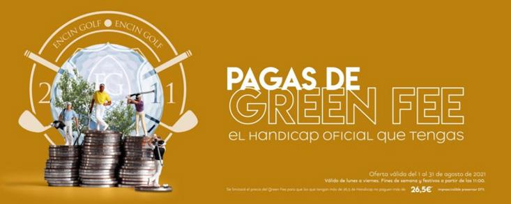 El Encin Golf&Hotel revoluciona el golf el mes de agosto en Madrid