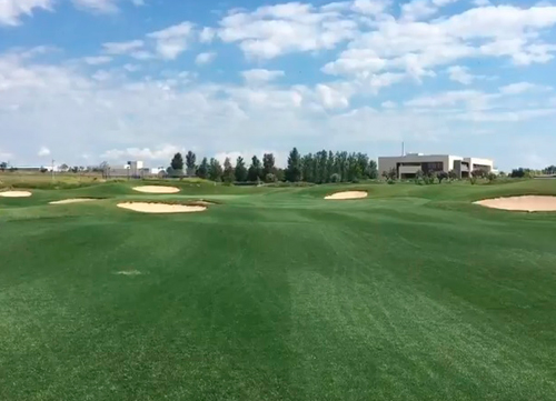 Manuel Galán: 'El campo está maravilloso para disfrutar del golf'