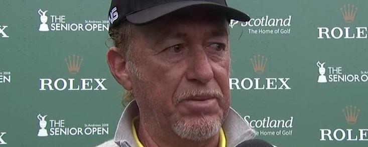 Miguel Ángel: 'Es un honor haber ganado un Open en el mismo campo que Seve en 1984'