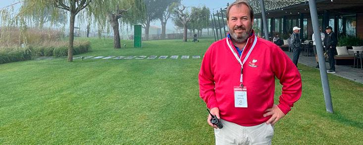'La buena situación del COVID nos ha dado una ventaja competitiva en el golf'