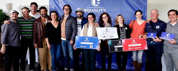 La Equality Golf Cup recauda 7.550 euros solidarios