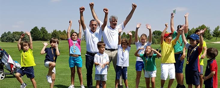 Fin de temporada en la Escuela de Golf Las Pinaillas