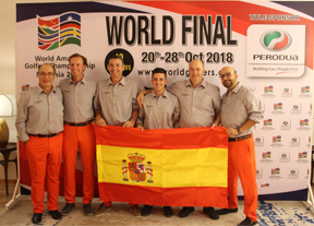 España, sexto en la Final Mundial del WAGC 2018