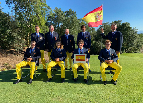 Cuarto puesto para el equipo español en el Europeo Absoluto Masculino por Equipos
