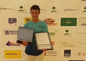 Rubén Pardo, hándicap más bajo de Albacete