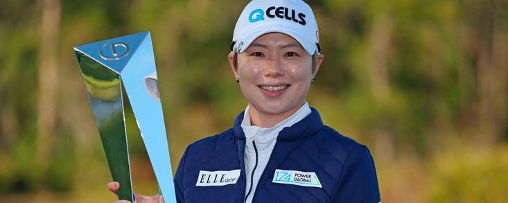 Eun Hee Ji, primera campeona de 2019 en la LPGA