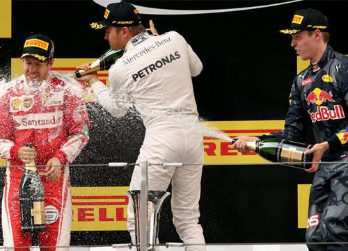"""""""Paseíto"""" de Niko Rosberg en China"""