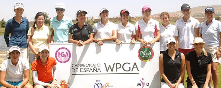 María Beautell, vencedora del Pro-Am del Campeonato de España WPGA